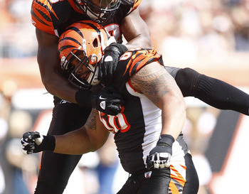 Defensive end Jonathan Fanene left the Cincinnati Bengals for New England.