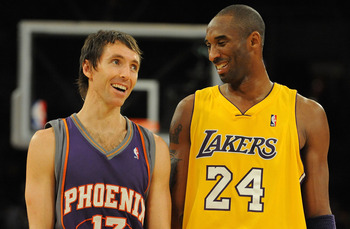 Will Kobe defer to Nash to get the offense going?