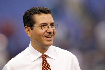 Daniel Snyder, the owner of the Washington Redskins, is known as an owner who overpays for talent in the free agent market.