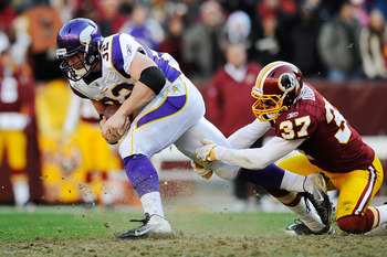 Toby Gerhart averaged 4.9 yards per carry in 2011. With Adrian Peterson's status for Sept. 9 uncertain, Gerhart is expected to be the starter for the opener.
