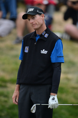 Jim Furyk finished T-5 at the 2012 U. S. Open