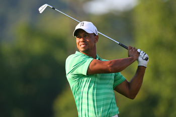 Tiger Woods has three wins in 2012