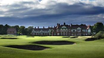 The Royal Lytham and St Annes clubhouse (photo via rcga.com)