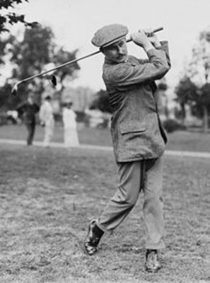 Harry Vardon has the most wins with six (photo via wikipedia.com)