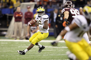 Robinson has struggled against teams that possess elite defenses throughout his Michigan career.