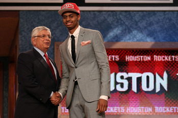 Jeremy Lamb, Houston's 1st round selection in the 2012 NBA Draft