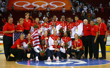 The U.S. women took home gold from the 2008 Games in Beijing.