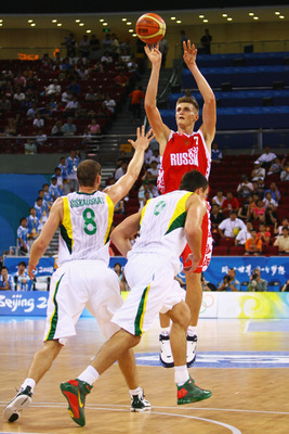 Andrei Kirilenko leads a Russian squad that has played together for years.