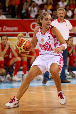American Becky Hammon will be expected to pick up some of the slack for Russia.