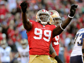Aldon Smith was a force for the 49ers' defense in 2011
