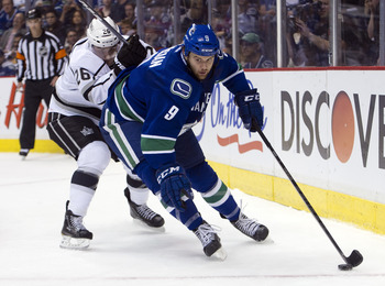Cassian brings some much-needed toughness to the Canucks.