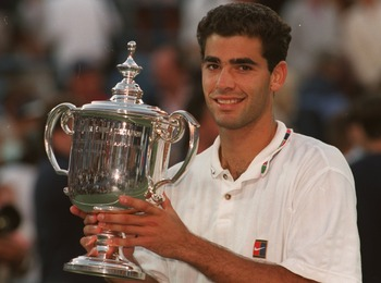 Sampras as a young stud on the rise