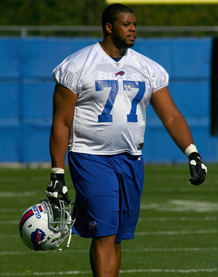 Rookie left tackle Cordy Glenn hopes to start from day one.