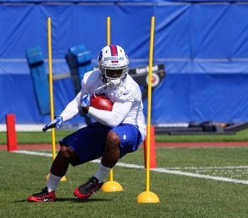 Undrafted free-agent running back Chris Douglas has upside (photo courtesy of BuffaloRumblings.com).