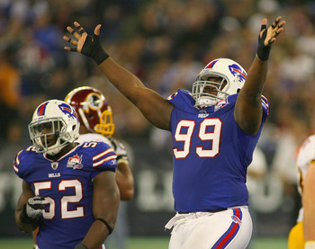Marcell Dareus hopes to continue his success against Washington in Week 1 of the preseason.