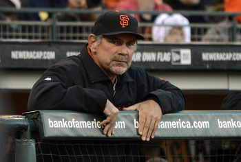 Bruce Bochy has done a very good job this year