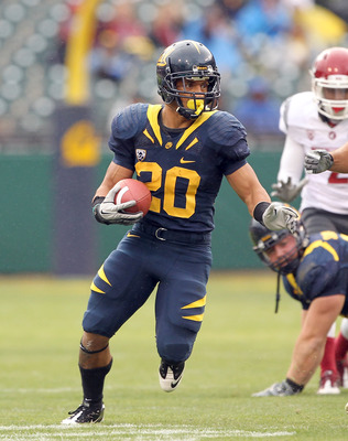 Cal will have to rely on the legs of Warrick Dunn-esque Isi Sofele.