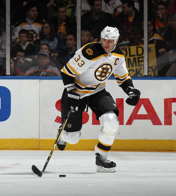 Chara's physical strength has allowed him to dominate smaller opponents.