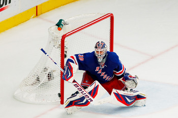Lundqvist's positional play has allowed him to become one of the top goalies in the game.