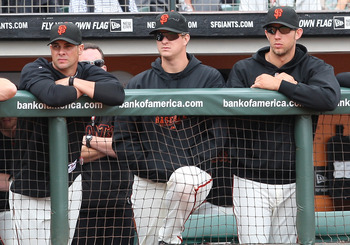 The Giants' Big Three need to pitch better on the road.