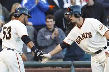 Melky Cabrera and Buster Posey need to up their home run production.