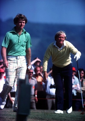 Nicklaus and Watson battled for four days at Turnberry in 1977