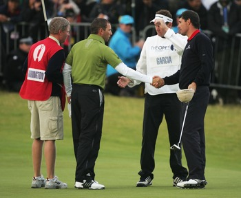 Padraig Harrington won a playoff in 2007