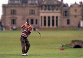 John Daly beat Constantino Rocca in a playoff at the Old Course