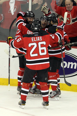 Patrik Elias was the leading scorer on the 2000-01 Devils.