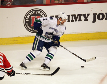 High-scoring Daniel Sedin could not bring the Stanley Cup home in 2011.