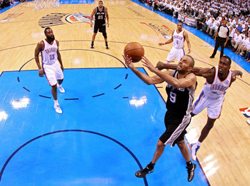 SACRE BLEU!  TONY PARKER ONCE AGAIN LEADS THE FRENCH