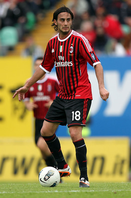 Alberto Aquilani in action