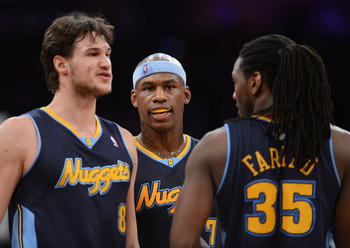 Danilo Gallinari, left, and Kenneth Faried are signed to extremely team-friendly contracts