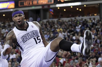 Third-year big man Demarcus Cousins is ready to join the NBA's short list of elite post players