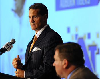 Auburn head coach Gene Chizik / Photo Credit: Auburn University/Todd Van Emst