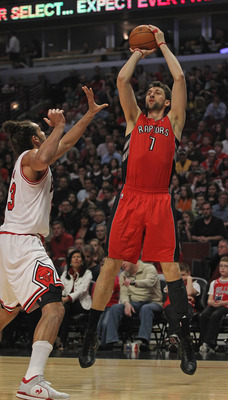 Bargnani is a big man who's not afraid to put it up.
