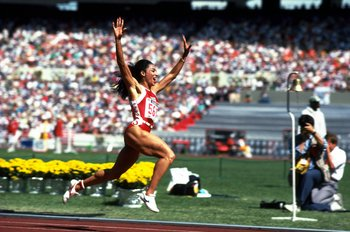 Florence Griffith-Joyner still owns two Olympic records, which she set in 1988.