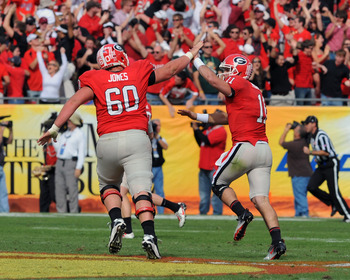 Aaron Murray looks for some more good times against Florida