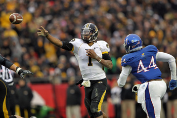 Dual threat QB James Franklin heads the Mizzou attack