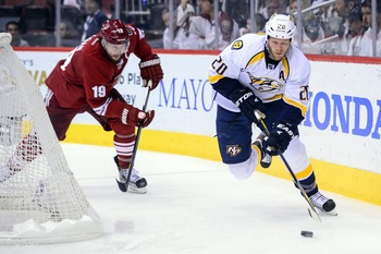 Losing puck-moving defenseman Ryan Suter is disastrous for the Preds.