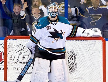 Goalie Antti Niemi has shown the tendency to give up big goals for the Sharks.