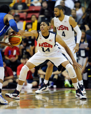Davis is the longest body on Team USA will be a force in the post on the defensive end.
