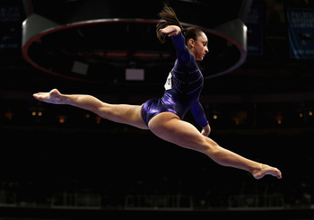 Jordyn Wieber is one of the youngest competitors for Team USA this summer.