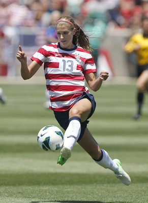 Morgan, at 23, is one of the most talented players on Team USA's veteran roster.