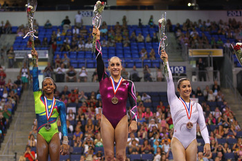 Douglas (Left), Wieber (Center)