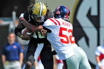 Ole Miss LB Mike Marry