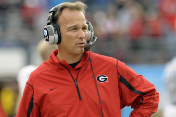 Georgia head coach Mark Richt