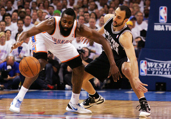 Harden (USA) and Ginobili (ARG) will be going head-to-head.