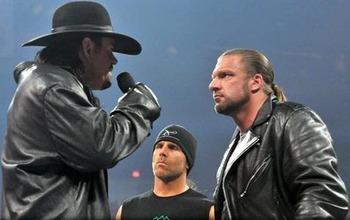 Shawn Michaels had a short, yet intriguing, list of talent he'd like to work if he came out of retirement.  Among them, Triple H and the Undertaker. (From WWE.com)
