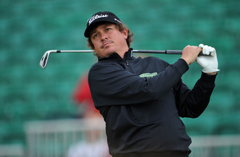 Jason Dufner is T-5 at the Open